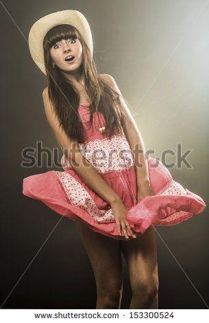Windy Skirt Photos et images de stock   Shutterstock