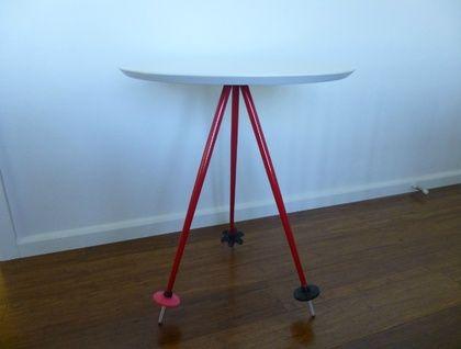 Ski Pole Table #2