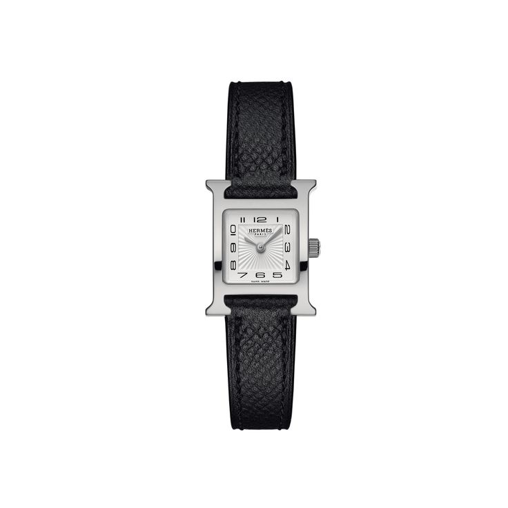 Hermes Heure H TPM Stainless Steel Watch with Interchangeable Strap