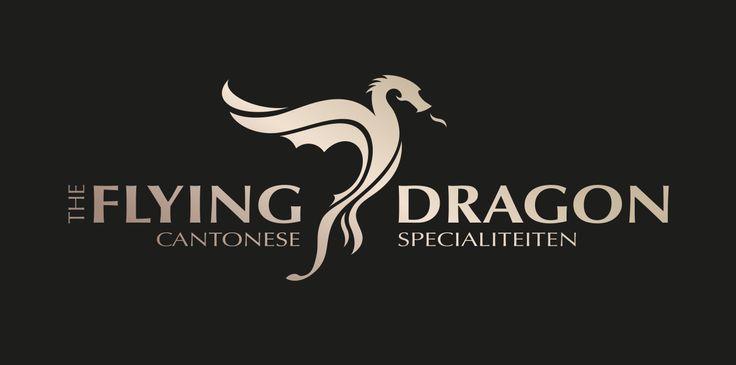 Logo Design for Chinese Restaurant The Flying Dragon