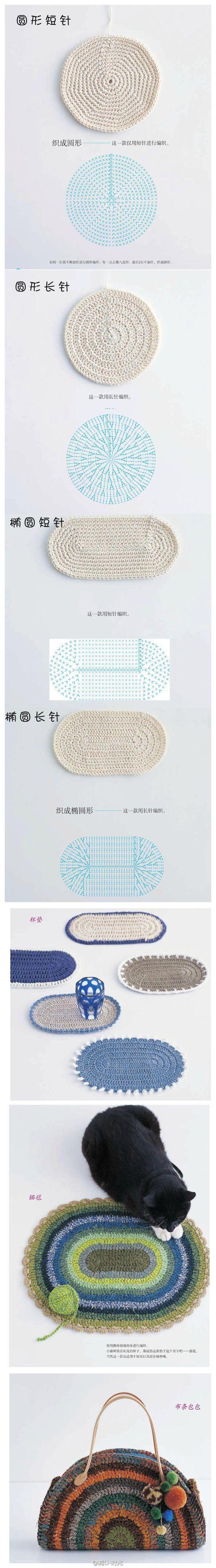 Teppich häkeln - Gemacht mit Liebe