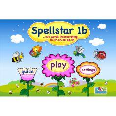 Spell Star 1b - sh, ch, th, oo, ee, ck words