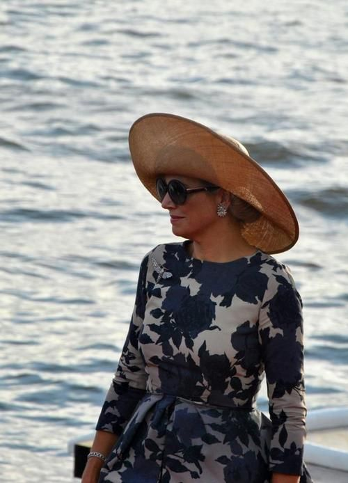Crown Princess Maxima of the Netherlands.  She is just TOO fabulous!
