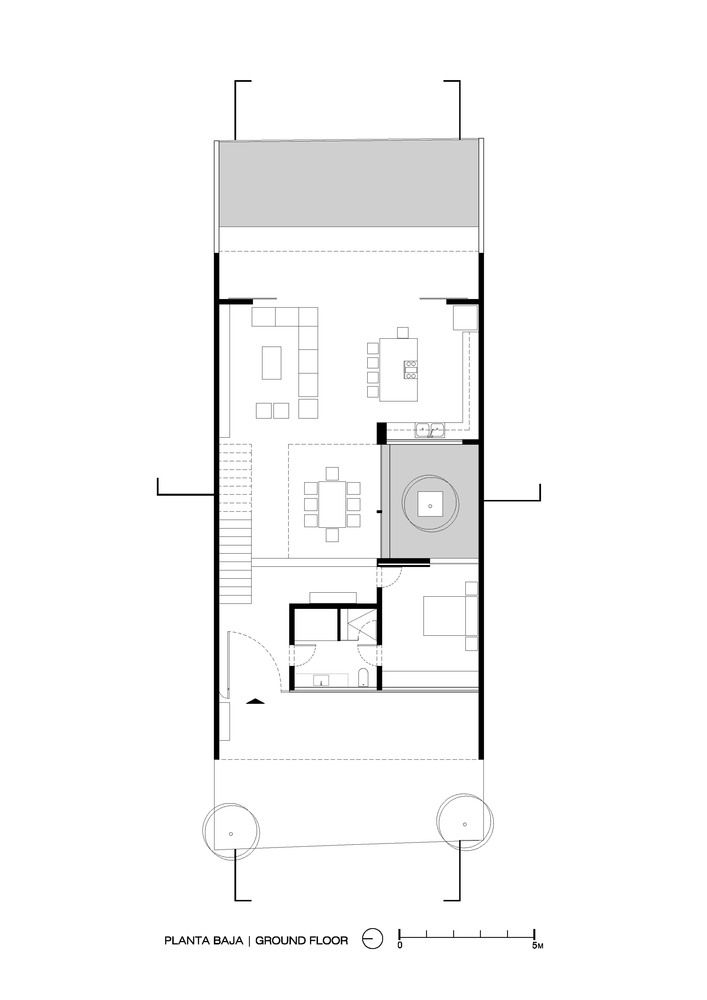 Gallery of V House / Abraham Cota Paredes Arquitectos - 27