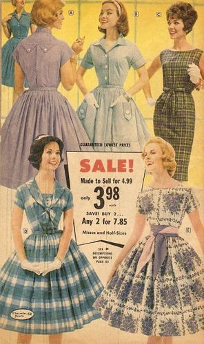 1950s dresses- I wish I had em all! Why cant girls learn to love modesty agian?