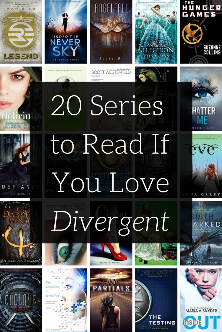 Cure your #Divergent withdrawal with these books