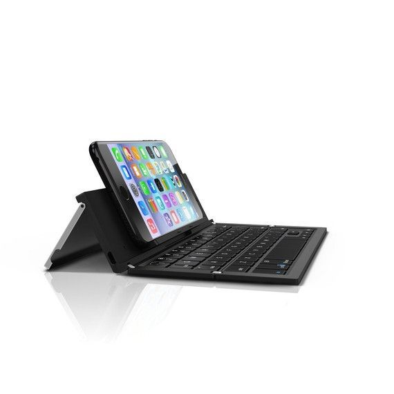ZAGG Foldable Wireless Pocket Keyboard Universal for Smartphones, Small Tablets (Android/Apple Capable)