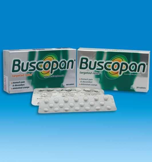 Buscopan (Hyoscine-N-butylbromide) 10mg 2 tab tds - the standard for pain relief from GIT and GUT spasms including menstrual cramps.