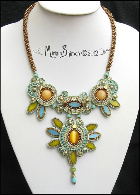 Reigna Soutache Necklace | Flickr - Photo Sharing!