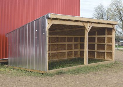Cattle Shelter No Instructions Design To Expand On For