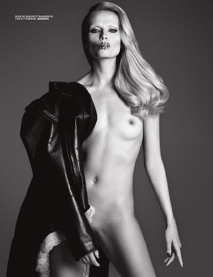 Natasha Poly photographed by Luigi & Iango for Lui Magazine, March 2015
