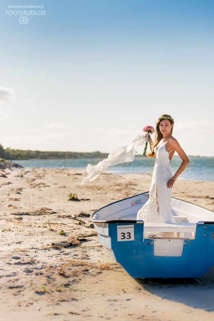 perfect beach marine style wedding photography