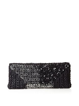 Lorenza Gandaglia Women's Sonia Mini Clutch with Sequins (Black)