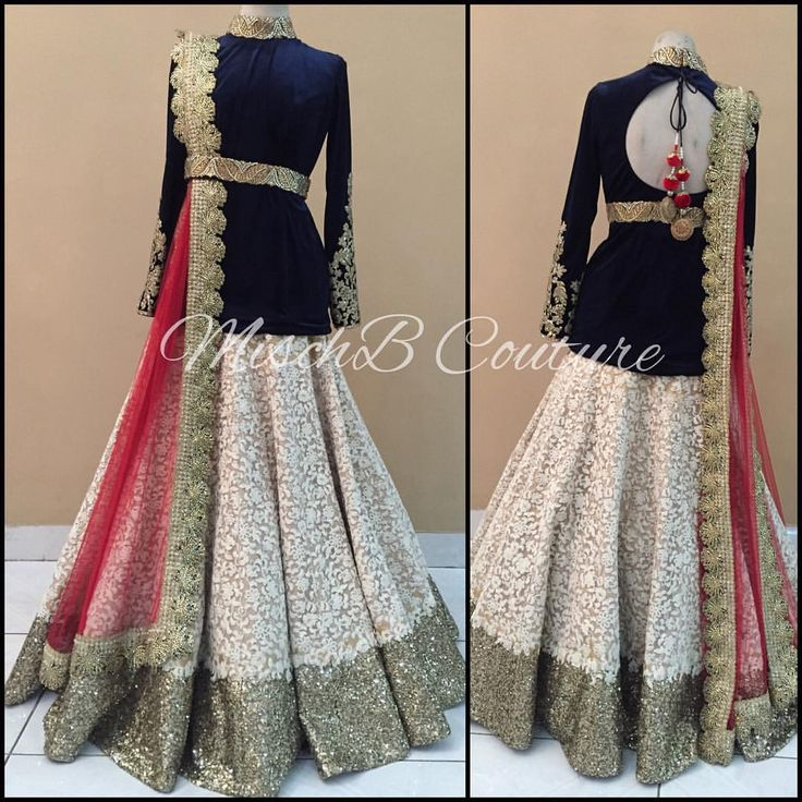 Royal Regalia, lehenga by MischB Couture <3