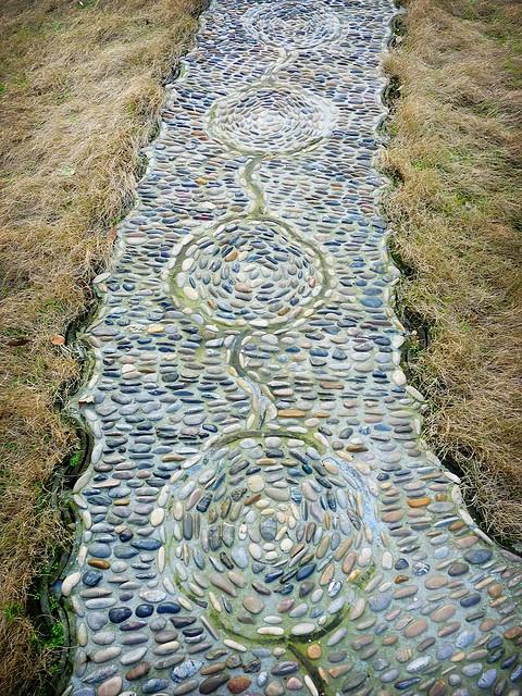 Suzhou garden path