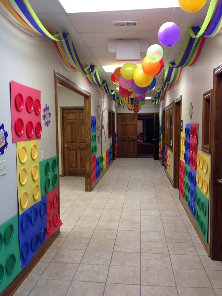 Love the way this hallway was designed! Thanks to Adrian United Methodist Church MO! www.cokesburyvbs.com