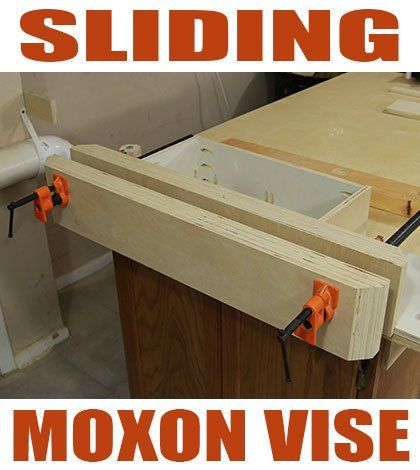 How To Make A Sliding Moxon Vise – Jays Custom Creations