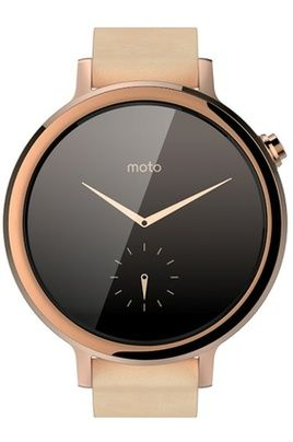 Motorola MOTO 360 V2 FEMME 42MM OR ROSE pas cher prix promo Montre connectée Mistergooddeal 329.00 €