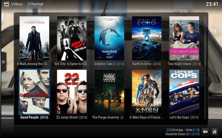 1Channel XBMC Kodi Video Streaming Addon