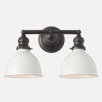 Montclair Wall Sconce Light Fixture | Schoolhouse Electric & Supply Co. $307.00 with fixture covers