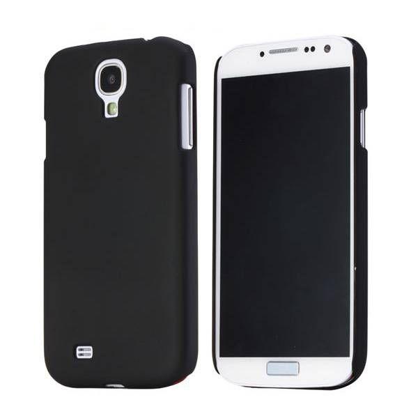 Zwart effen hardcase hoesje Samsung Galaxy S4