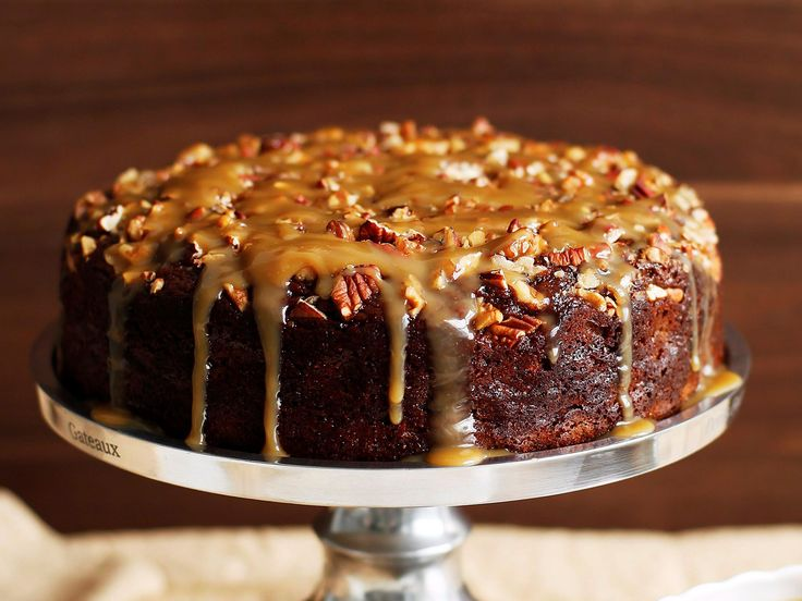 Add a delicious crunch to the classic sticky date pudding with roasted nuts.