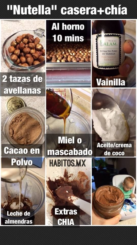 "Hábitos Health Coaching   ¡""Nutella"" casera!"