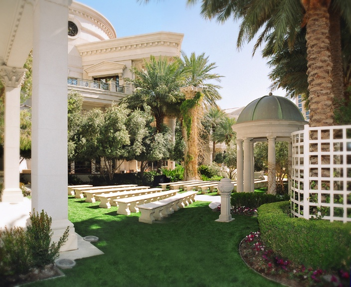 Venus Garden At Caesars Palace My Wedding Was Here Great Day Beautiful
