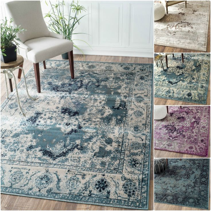Lovely NuLOOM Oriental Vintage Viscose Traditional Fancy Rug X   Overstock  Shopping   Great Deals On Nuloom   Rugs
