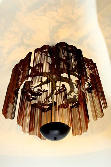 Faraway Tree Chandeliers by Willowlamp | Faraway Tree - Elongated - ..