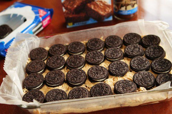 On Wednesday, I wondered what would happen if you combined Oreo Stuffed Chocolate Chip Cookies with Oreo Stuffed Brownies. On Thursday I found out. And on Friday…  I had this. This bea...