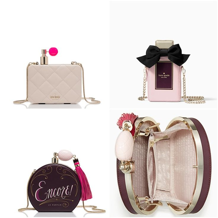 Perfume Bottle Purses from Kate Spade for Fall 2016