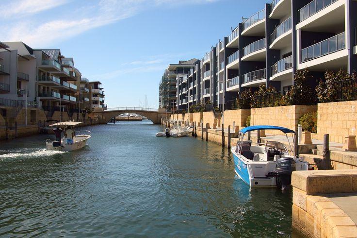 Mandurah canals Western Australia