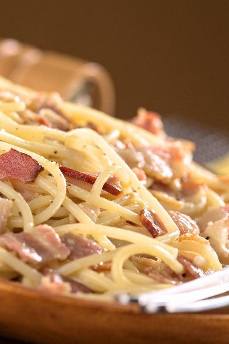 Classic Italian Spaghetti Carbonara #Recipe