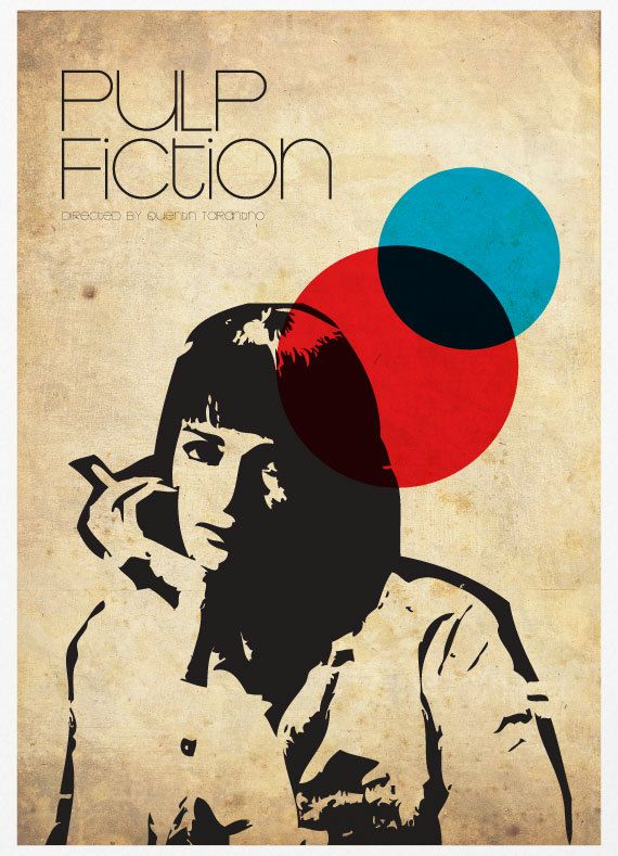 creative Pulp Fiction poster