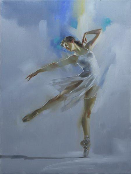 Balance - 24x18 - Richard S. Johnson - Addison Art Group
