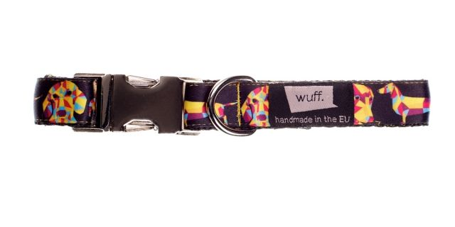 Wuff Dachshund Dog Collar - Dachshunds are one of our favourite breeds, you'll find perfect matching collars for all colours and sizes! http://www.wuffcollars.com/en/item/Dachshund_Collar-110 Item Code: 110