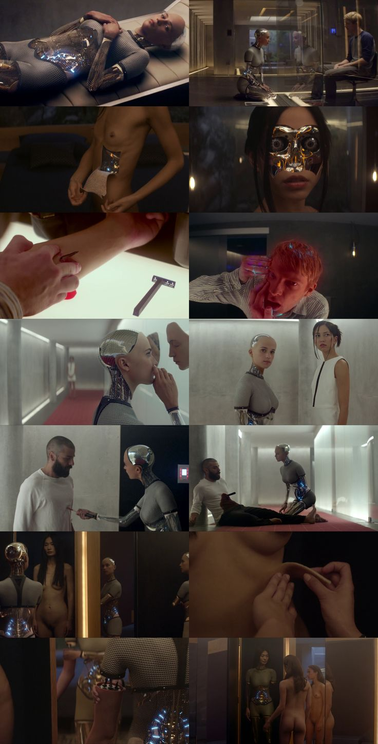 Ex Machina (2015) such a good film that explores the very meaning of being human