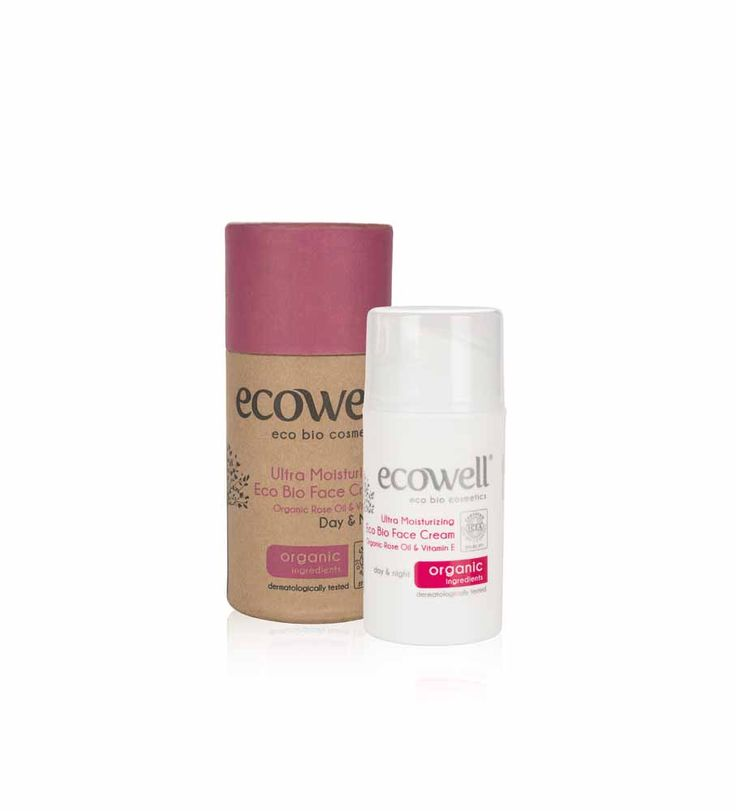 ECOWELL ULTRA MOISTURISING ECO BIO FACE CREAM Organic Rose Oil & Vitamin E. Nourishing, protective and moisturizing   Makes the skin soft and smooth with its rapid and intensive moisturizing effect.     -  Rose oil softens and nourishes skin www.naturalelixirs.biz