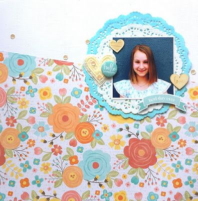 Deer and Fawn Designs: Scrapping With Bold Pattern Paper