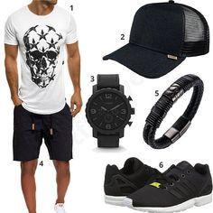 10 Outfits mit kurzen Hosen und Shorts für Männer. Lässige Styles mit Chino-Hosen, Cargo-Shorts, Jeanshosen für Herren. Jetzt ansehen und zugreifen!