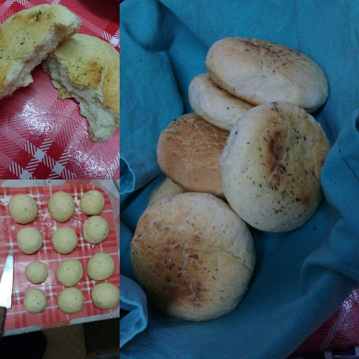 pan con ajo y orégano