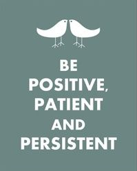 positive patient and persistent NeverGiveUp Inspirational Quotes and Sayings Cards