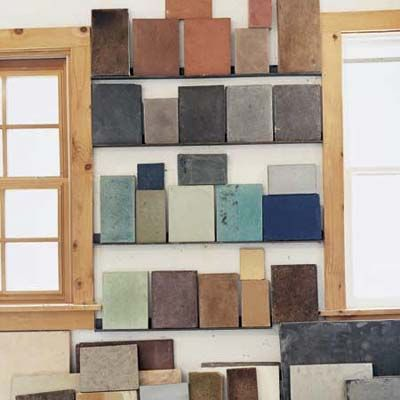 Since just about any pigment can be added to the mix, the possibilities are endless. In addition to limitless color choices, it can be poured into just about any shape, troweled to any texture, and given any edge profile, so it looks at home in a wide variety of spaces. And because each countertop is handcrafted, it has an artisanal quality that other manufactured materials lack.