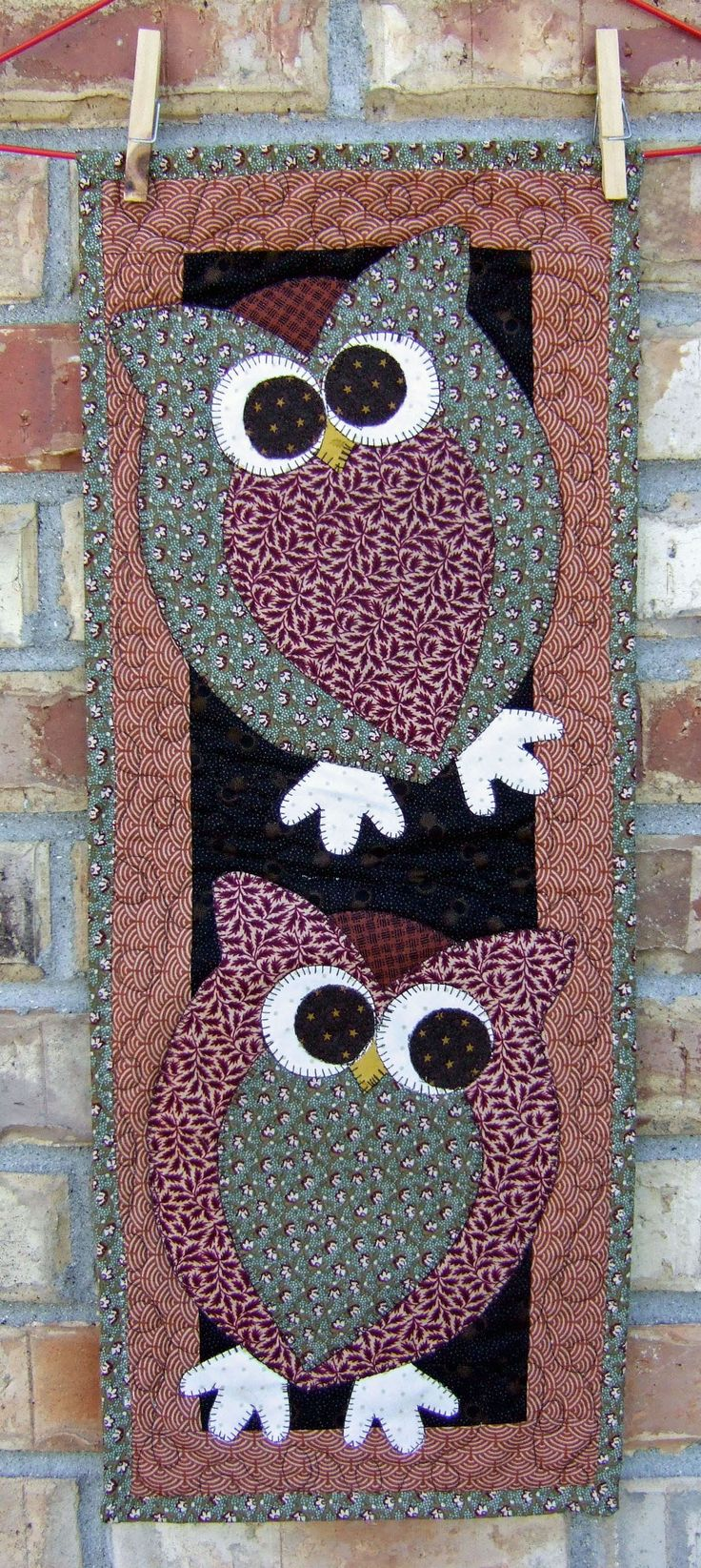Image detail for -Quilt Pattern Design Skinnies: What a Hoot! | Quilt Pattern Design by ...