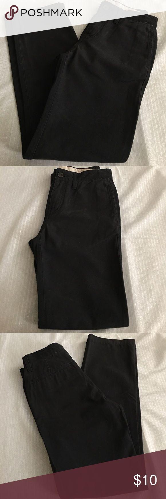 GapKids Size 14 regular black Khaki Slacks GapKids Size 14 regular black Khaki Slacks never worn.... GapKids Bottoms