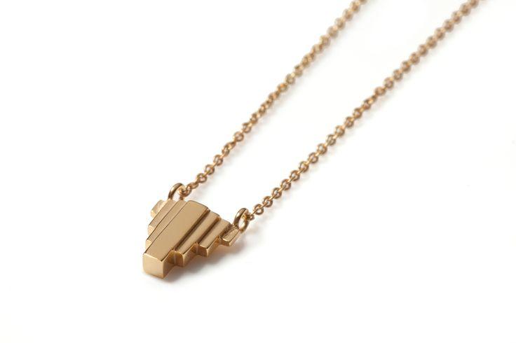 Umbra Necklace Gold