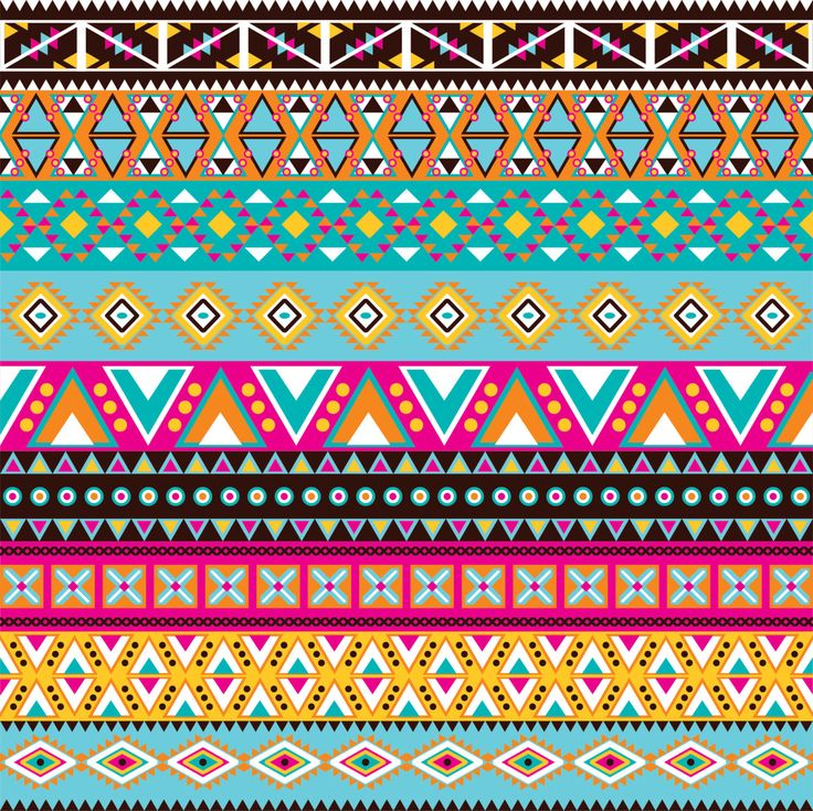 Magenta, brown, teal, aqua, yellow, orange Aztec tribal pattern heat transfer or adhesive  vinyl htv sheet Peruvian pattern HTV2104 by BreezePrintCompany on Etsy https://www.etsy.com/listing/219855215/magenta-brown-teal-aqua-yellow-orange