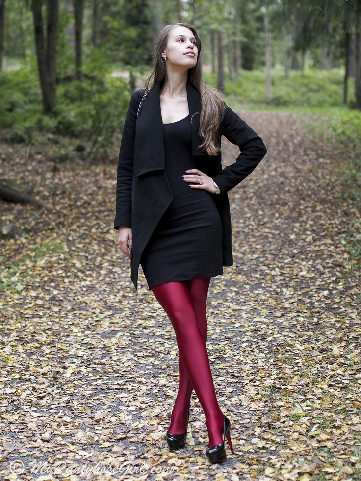 Remarkable, black shiny pantyhose opinion