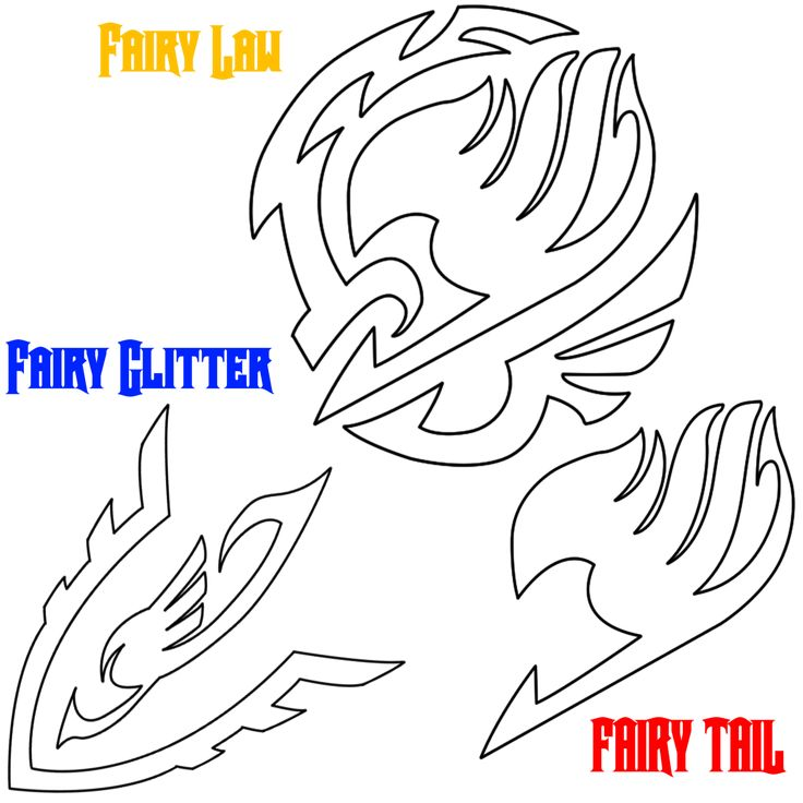 Fairy Tail Symbols by Saiyagami on DeviantArt